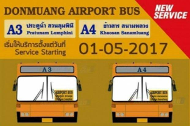 Luchthavenbus Don Mueang