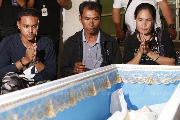 Familie van Pornthip 'Nong Rung' Kulanant
