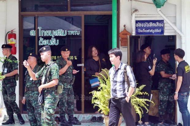 Inval bij Thai Muslim tv-station