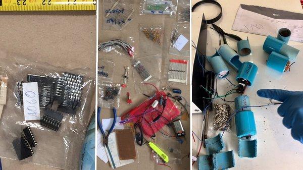 Materialen voor het maken van bommen