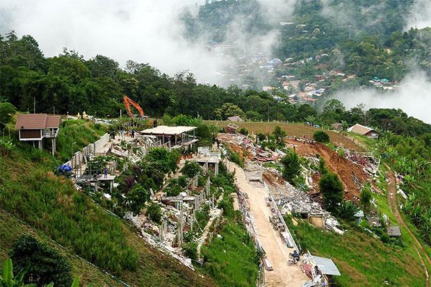Phu Thap Boek berg Phetchabun