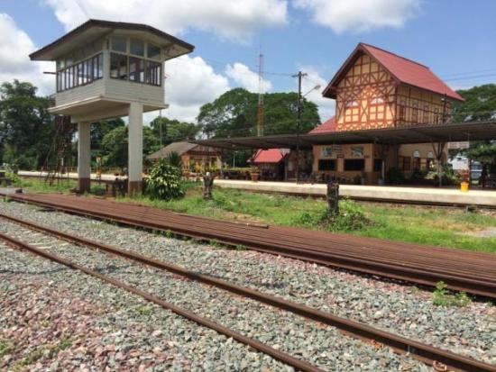 Station Ban Pin in Phrae