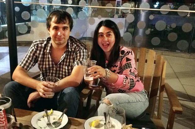 Alexandre Cazes and his wife Sunisa Thapsuwan
