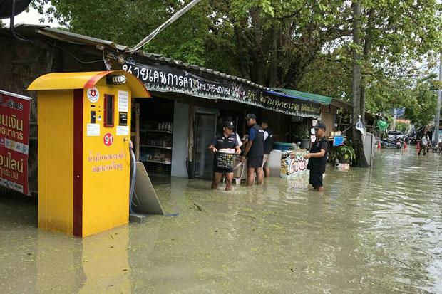 Overstroming Koh Lipe