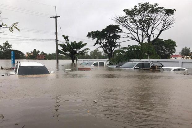 Overstroming Sakon Nakhon