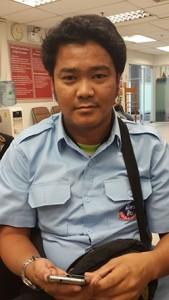 Taxi driver Pongpisut Promkote