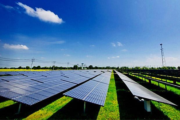 Zonne-energie centrale