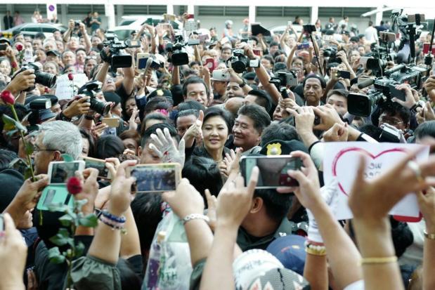 Eerdere steun voor Yingluck bij hooggerechtshof