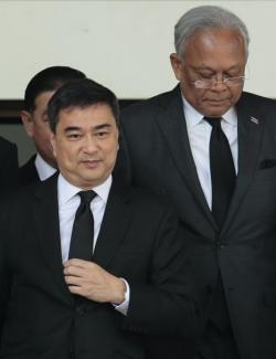 Abhisit en Suthep