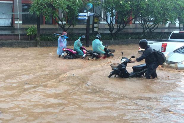 Overstroming Phuket