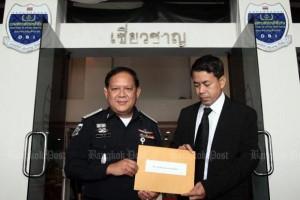 Worranan Srilum en Panthongtae's advocaat