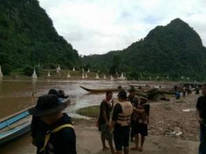 Zoektocht naar 4 vermisten op de Moei rivier