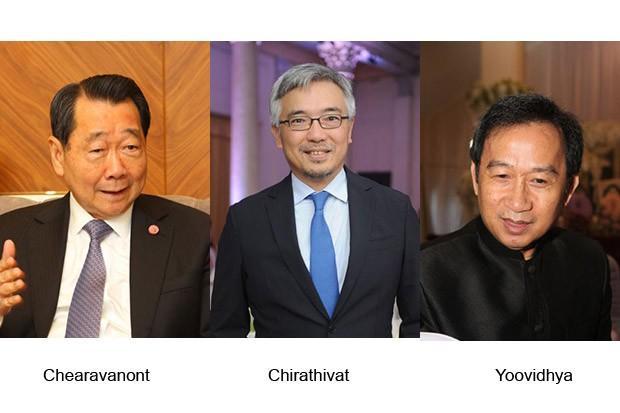 Drie rijkste Thai