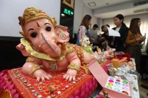 Ganesha, maar nagemaakt