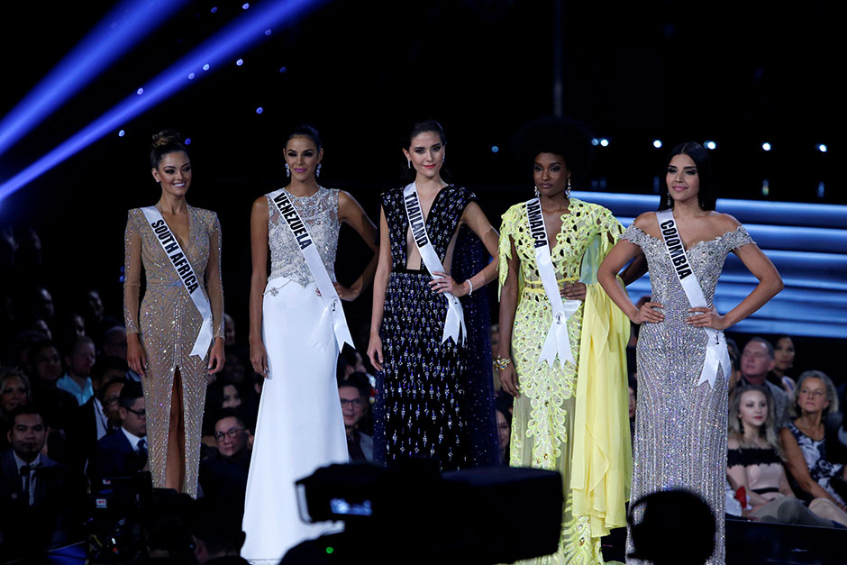 Top-5 Miss Universe 2017 verkiezing