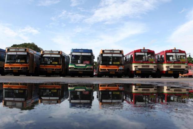 BMTA bussen die dringend aan vervanging toe zijn.