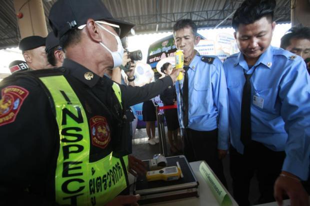 Controle van busbestuurders op alcohol- en drugsgebruik