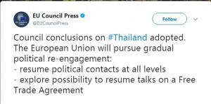 Persbericht EU