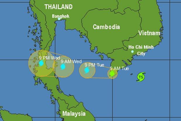 Tropische storm Tembin