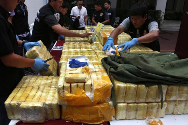 Drugsvangst in Suphan Buri