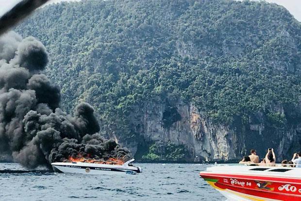 Explosie op speedboot in Krabi