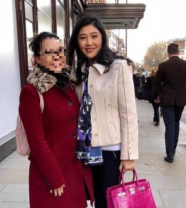 Yingluck in Londen 2